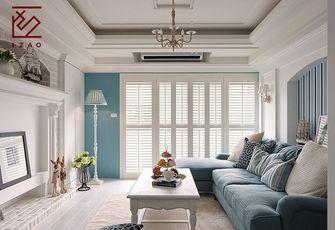 10-15万120平米三室两厅美式风格楼梯间装修图片大全