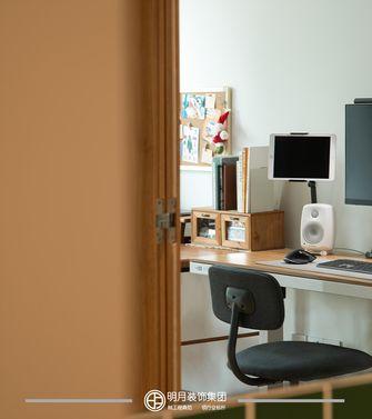 经济型80平米公寓日式风格书房图