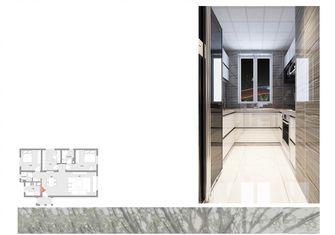 80平米三港式风格厨房图片