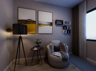 富裕型140平米四室两厅轻奢风格书房图