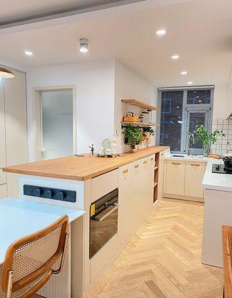 5-10万90平米三室两厅北欧风格厨房设计图