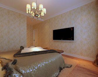 140平米三港式风格卧室装修案例