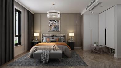 豪华型100平米三中式风格卧室装修效果图