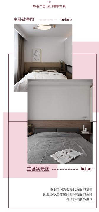 富裕型100平米混搭风格卧室装修效果图