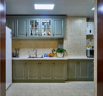 20万以上130平米三室两厅美式风格厨房图片