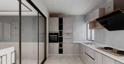 10-15万三室两厅现代简约风格厨房欣赏图