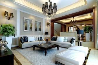 豪华型130平米三室两厅美式风格客厅装修效果图