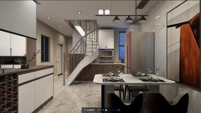 豪华型80平米复式现代简约风格客厅效果图