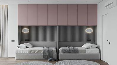 豪华型140平米三室一厅现代简约风格青少年房图片