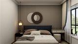 3-5万60平米一室一厅北欧风格卧室设计图