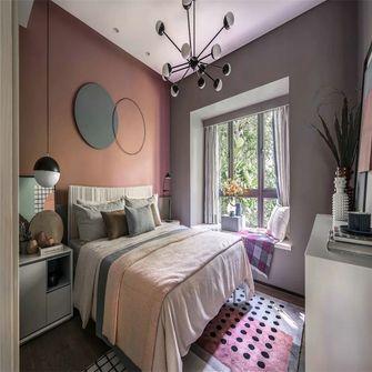 富裕型100平米三室一厅混搭风格卧室装修案例