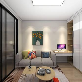 经济型50平米北欧风格客厅效果图