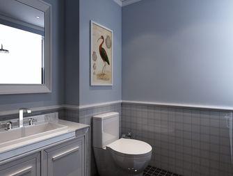 130平米三室两厅美式风格卫生间设计图