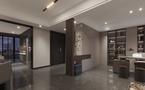 110平米三室三厅现代简约风格走廊图片