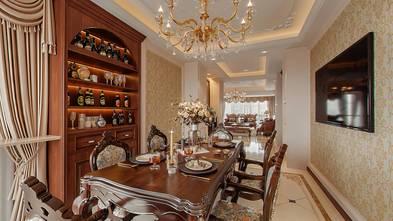 20万以上140平米三室一厅新古典风格餐厅装修图片大全