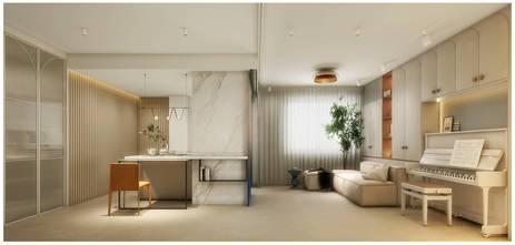 15-20万50平米公寓现代简约风格其他区域装修案例