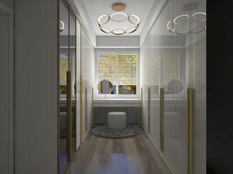 130平米三室两厅轻奢风格衣帽间图