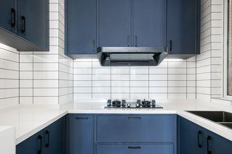 富裕型130平米三室两厅北欧风格厨房设计图