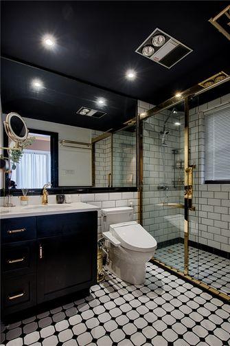 经济型110平米三室两厅北欧风格卫生间图