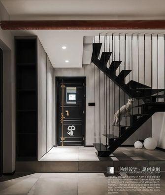 20万以上140平米三室两厅混搭风格楼梯间装修案例