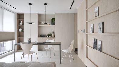 豪华型140平米四室一厅北欧风格书房图片大全