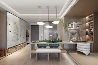 90平米三室两厅日式风格餐厅设计图