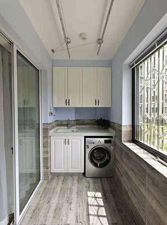 富裕型130平米三室两厅美式风格阳台装修案例