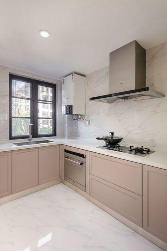 140平米三室一厅美式风格厨房装修图片大全