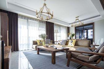 富裕型140平米美式风格客厅图片