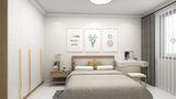 10-15万60平米日式风格卧室设计图
