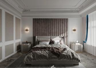 130平米三室两厅法式风格卧室装修效果图