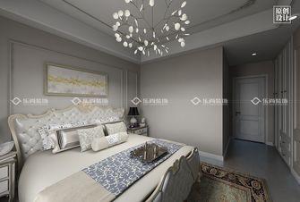 富裕型110平米三室三厅美式风格卧室效果图