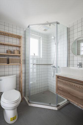 130平米三室两厅日式风格卫生间图片大全