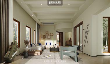 豪华型140平米别墅中式风格客厅效果图