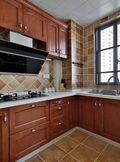富裕型120平米三美式风格厨房装修效果图