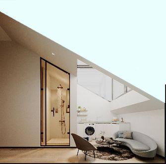 豪华型复式现代简约风格阁楼装修图片大全