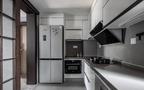 富裕型130平米三室三厅现代简约风格厨房图片大全