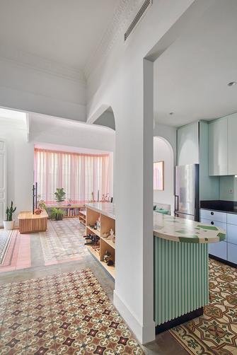 20万以上140平米混搭风格客厅装修效果图