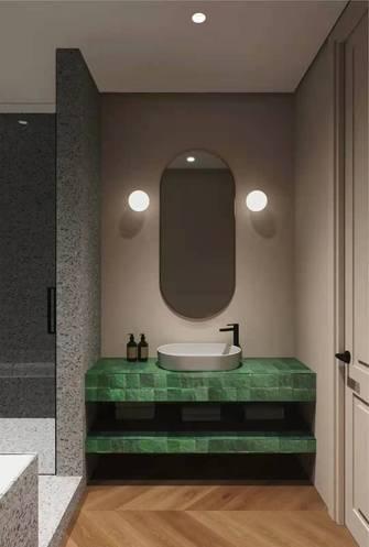富裕型80平米一室一厅日式风格卫生间装修案例
