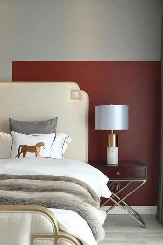 120平米三室一厅轻奢风格卧室图片