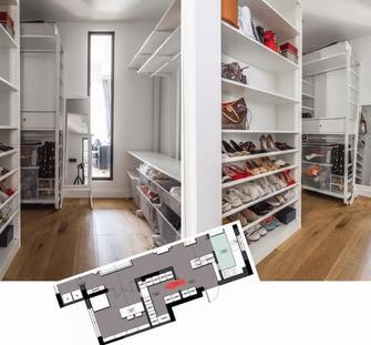 20万以上120平米三室两厅混搭风格储藏室设计图