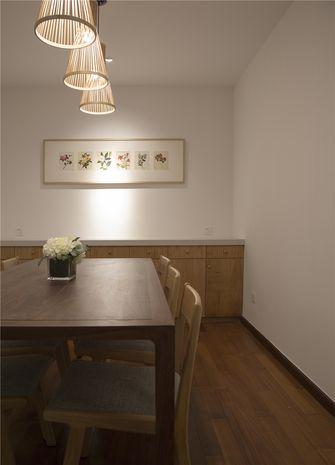 140平米别墅日式风格餐厅设计图