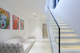 3万以下140平米别墅现代简约风格楼梯间欣赏图