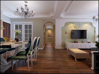 100平米三室两厅欧式风格客厅图
