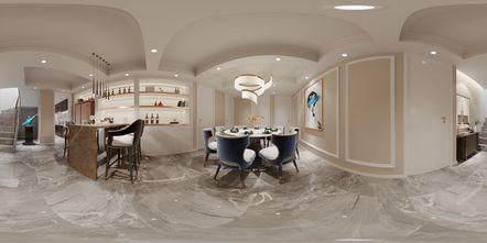 豪华型140平米四室三厅美式风格餐厅装修案例