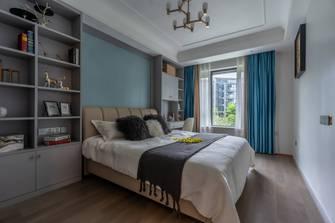 豪华型140平米四室两厅美式风格青少年房图