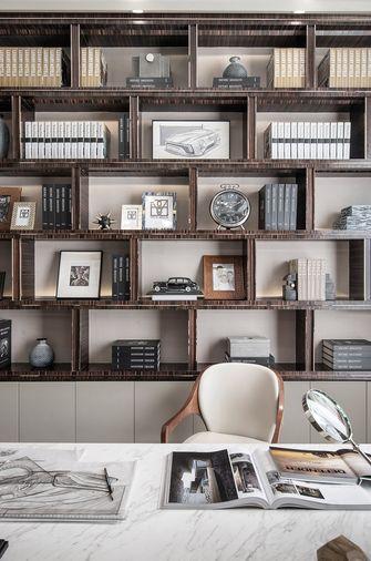 豪华型140平米三室一厅美式风格书房图片
