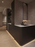 5-10万100平米现代简约风格走廊装修案例