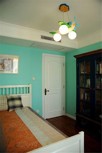 5-10万90平米公寓田园风格卧室效果图