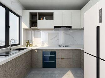 5-10万80平米三室一厅现代简约风格厨房装修效果图
